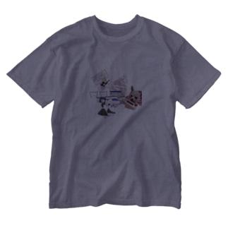 なんやおまえtしゃつ Washed T-shirts