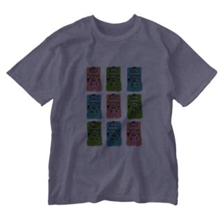 ゲームウォッチのおもしろさは異常 Washed T-shirts