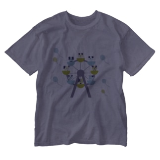 grande roue Washed T-shirts
