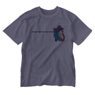 心臓を捧げよ Washed T-shirts