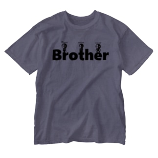 Anonymous brother (ver.LOGO) Washed T-shirts