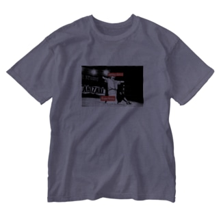 谷嵜Tシャツ Washed T-Shirt