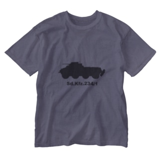 8輪装甲車 Sd.Kfz.234/1(グレー) Washed T-Shirt