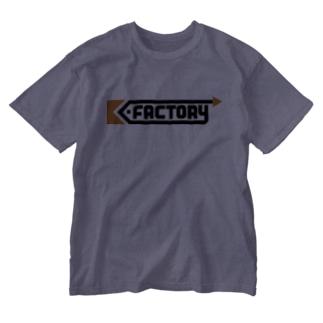 kimchinのK-FACTORY ロゴ Washed T-shirts