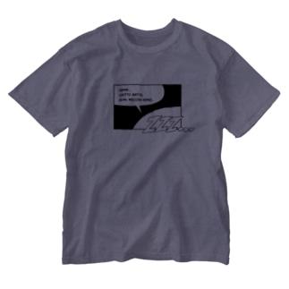 Nemui_comic Washed T-shirts