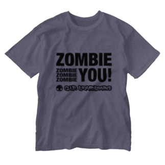Zombie You! (black print) Washed T-shirts