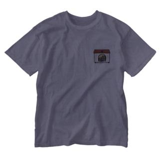 犬、犬小屋にIN Washed T-shirts