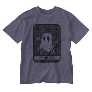 SAUNA ZOMBIES - LOST HAT GHOST T - Washed T-Shirt