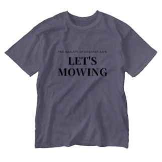LET'S MOWING Washed T-shirts