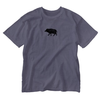 ジビT!〜ジビエを語ろう Washed T-Shirt