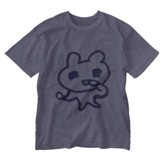 ナッツに夢中 Washed T-Shirt