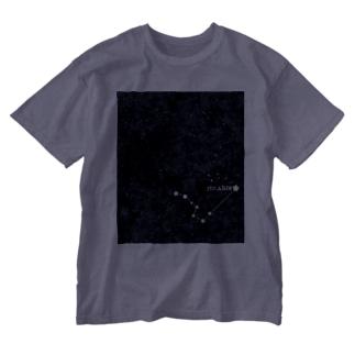 夜空に輝くPOLARIS Washed T-shirts