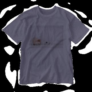 Teatime ティータイムのリビング 家 住まい ソファー Washed T-shirts