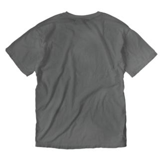 SENGEN T-shirt (BLACK2) Washed T-shirts