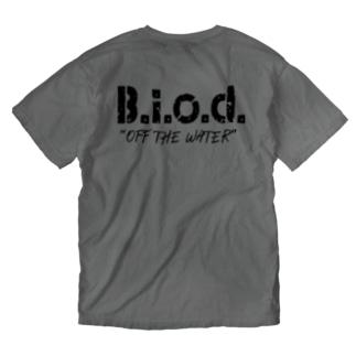B.i.o.d.ロゴT Washed T-shirts