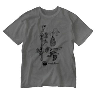 Kumanbachi , Bone of house & Spring plants Washed T-shirts