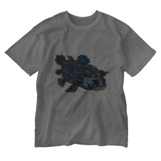 シーラカンス Washed T-shirts
