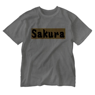 Sakura グッズ Washed T-shirts