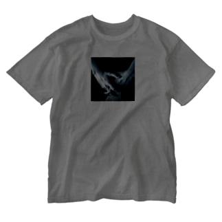 ワタシの手 Washed T-shirts