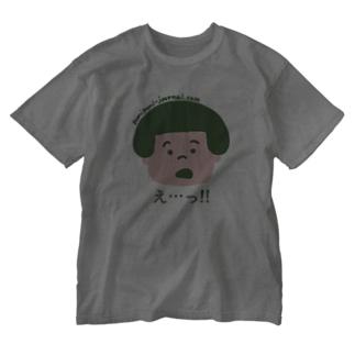 え…! Washed T-shirts