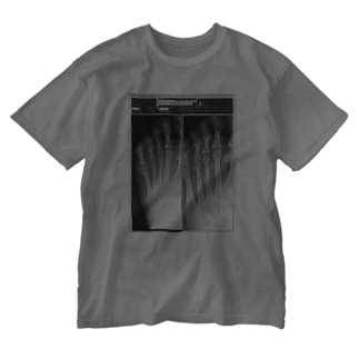 X-ray step Washed T-shirts