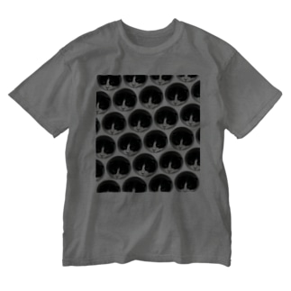 はちわれの整列 Washed T-shirts