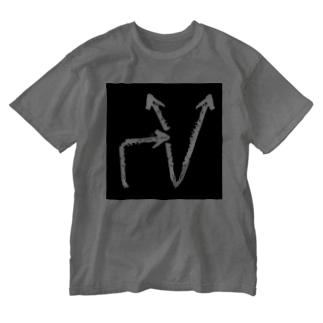 マケル(ガ)カチ.k Washed T-shirts