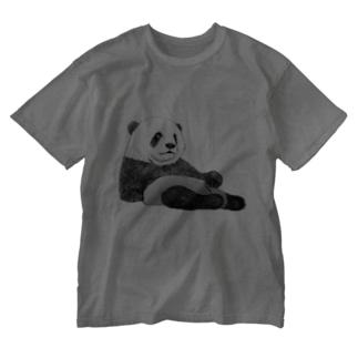 子パンダ Washed T-shirts