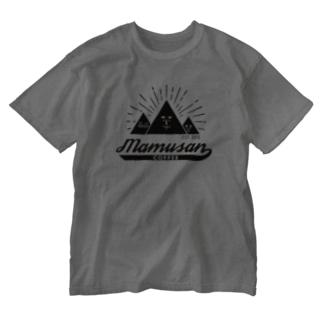 mamusanCOFFEE Washed T-shirts