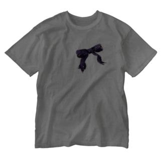 ここロ Washed T-shirts