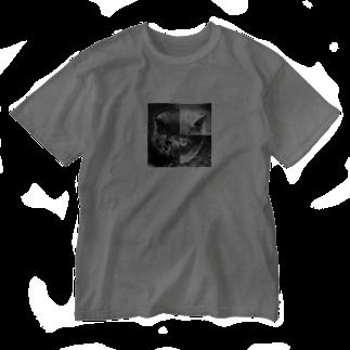 NOPSのねこ・ねこ・ねこ・ねこ Washed T-shirts