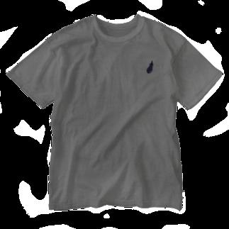 いしかわ みきのナスはお好き? Washed T-shirts