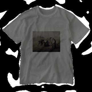 AVEC LES ENFANTSのフランソワミレー シリーズ3 Washed T-shirts