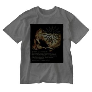 [大友窯SkullxBASARACRACY]#04「聖書」 Washed T-shirts