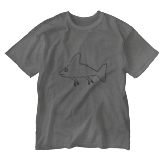 エキゾチックパートナーズのニセエボシカメレオンダマシ#2 カメレオンフィッシュ Washed T-shirts