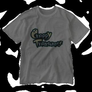 Creepy Treasures!のCreepy Treasures! Logo Washed T-shirts