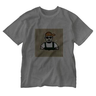 イケてるポテ男 Washed T-shirts