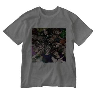 ナイトスティーラーズ Washed T-shirts