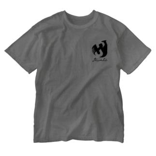 SHINSUKE SADA オフィシャルロゴグッズ Washed T-shirts