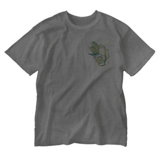すずらんトイレ(大)【はつか】 Washed T-shirts