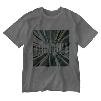 グリーン1 Washed T-shirts