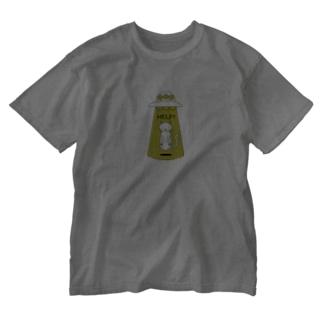 HELP猫 Washed T-shirts