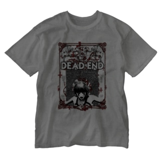 DEAD END Washed T-shirts