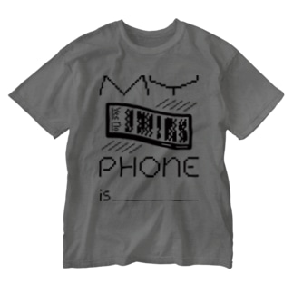 MY PHONE Washed T-shirts