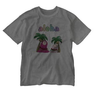 ALOHA - アロハ Washed T-shirts