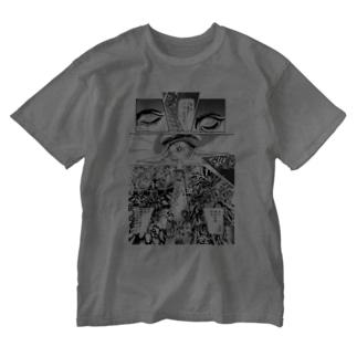 """宮西計三『エレベーション Sa・Yo・Na・Ra』 """"Laser-Eye"""" Washed T-shirts"""