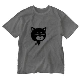 ZooBeeinuふーん Washed T-shirts