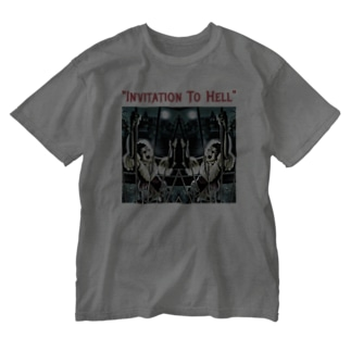 INVITATION TO HELL Washed T-shirts
