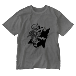 服部半蔵 Washed T-shirts
