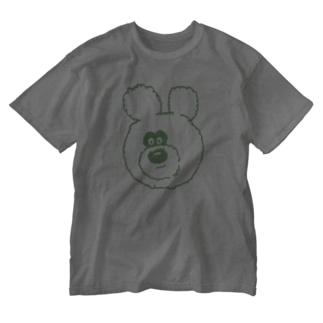 りのくまちゃんのりのくまちゃん グリーンアップる Washed T-Shirt